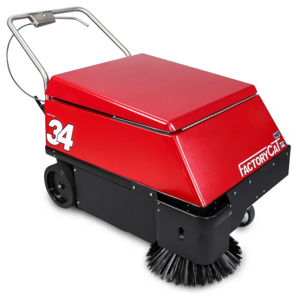 Factory Cat Model 34 Walk-Behind Floor Sweeper