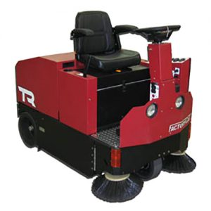 Factory Cat TR Rider Floor Sweeper