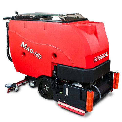 Factory Cat Mag-HD Walk-Behind Scrubber