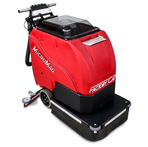 Factory Cat Micro Mag Walk-Behind Floor Scrubber