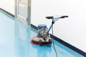 commercial floor scrubbers