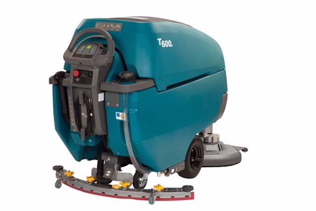 Tennant T600 Walk Behind Floor Scrubber System Clean Inc