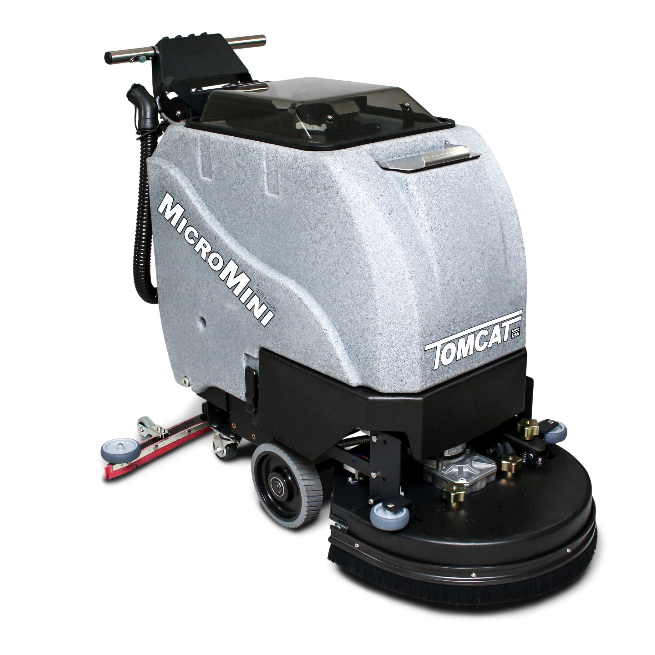 Tomcat Micromini Walk Behind Floor Scrubber Dryer System
