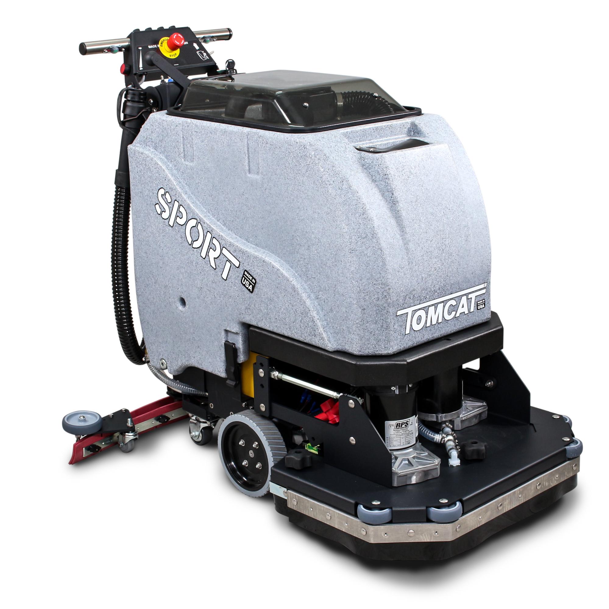 Tomcat Sport Walk Behind Floor Scrubber Dryer System