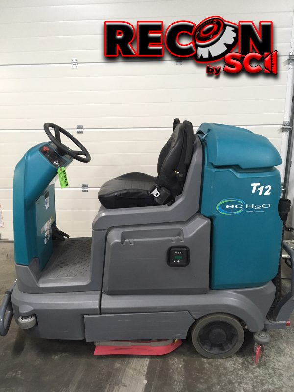 Reconditioned / Used Tennant T12 Rider Scrubber