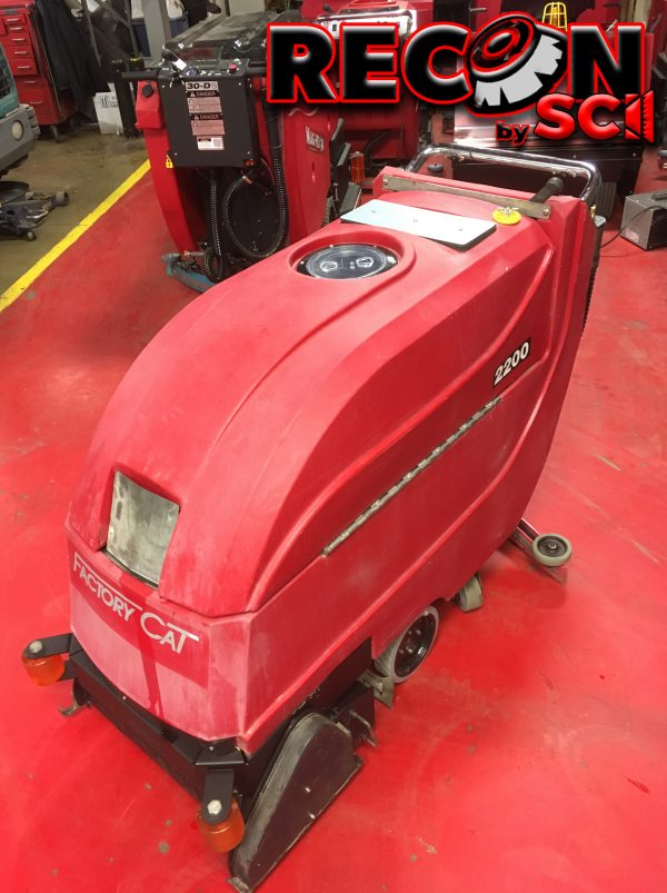 Reconditioned / Used Factory Cat 2200